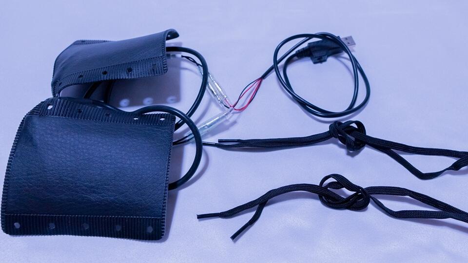 グリップヒーター(USB給電)